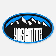 Yosemite N.P. Sticker (Oval)