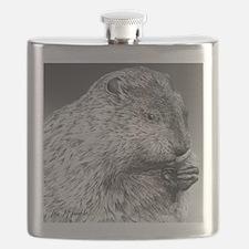 Punxsutawney Phil pillow Flask
