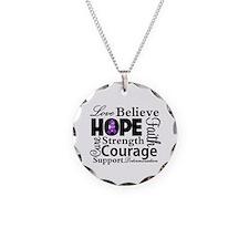 Inspire Hope Lupus Awareness Necklace