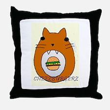 Cheezburgerz Throw Pillow
