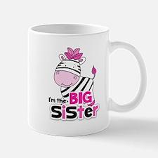 Pink Zebra Big Sister Mug