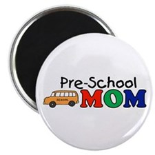 "Pre-School Mom 2.25"" Magnet (100 pack)"