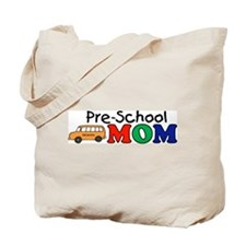 Pre-School Mom Tote Bag