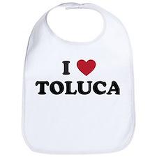 I Love Toluca Bib