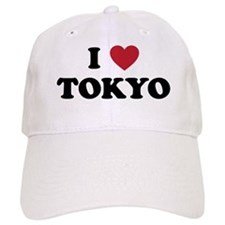 I Love Tokyo Baseball Baseball Cap