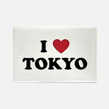 I Love Tokyo Rectangle Magnet
