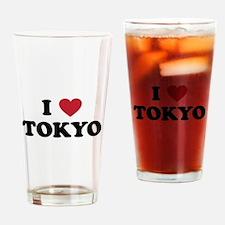 I Love Tokyo Drinking Glass