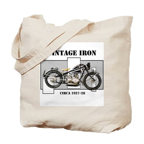 1927-28 Vintage Iron Tote Bag