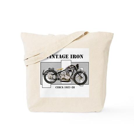 1927-28 Vintage Iron Tote Bag