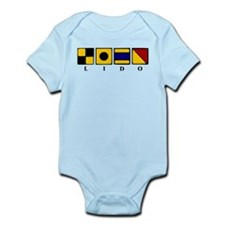 Nautical Lido Infant Bodysuit