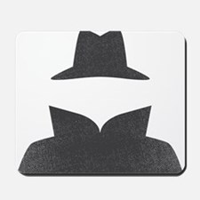Secret Agent Spry Spy Guy Mousepad