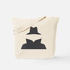 Secret Agent Spry Spy Guy Tote Bag