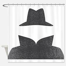 Secret Agent Spry Spy Guy Shower Curtain