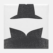 Secret Agent Spry Spy Guy Tile Coaster