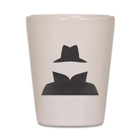 Secret Agent Spry Spy Guy Shot Glass