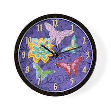 Harvest Moon's Funky Butterflies & Flower Cloc