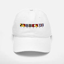 Nautical Longboat Baseball Baseball Cap