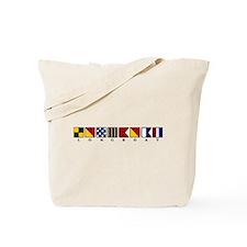 Nautical Longboat Tote Bag