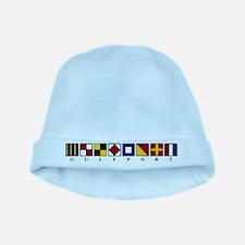 Nautical Gulfport baby hat