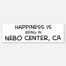 Nebo Center - Happiness Bumper Bumper Bumper Sticker