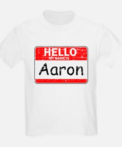 Hello My name is Aaron T-Shirt