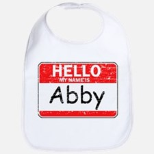 Hello My name is Abby Bib
