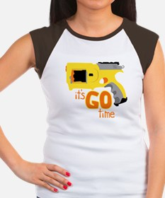 Go Time Dart Gun Women's Cap Sleeve T-Shirt