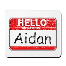 Hello My name is Aidan Mousepad
