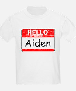 Hello My name is Aiden T-Shirt