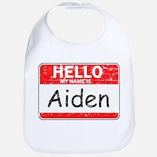 Hello My name is Aiden Bib