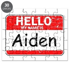 Hello My name is Aiden Puzzle