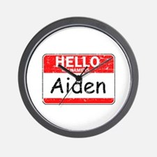 Hello My name is Aiden Wall Clock