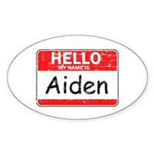 Hello My name is Aiden Decal