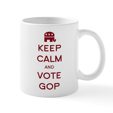 Keep Calm and Vote GOP Mug