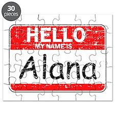 Hello My name is Alana Puzzle
