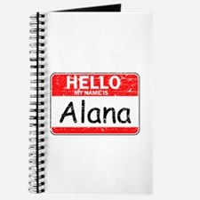 Hello My name is Alana Journal