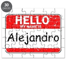 Hello My name is Alejandro Puzzle
