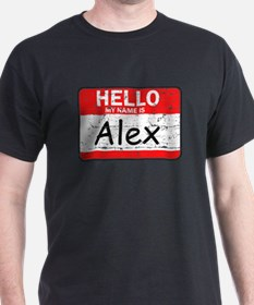 Hello My name is Alex T-Shirt
