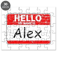 Hello My name is Alex Puzzle