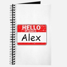 Hello My name is Alex Journal