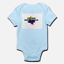 Indepencia de Colombia Infant Bodysuit