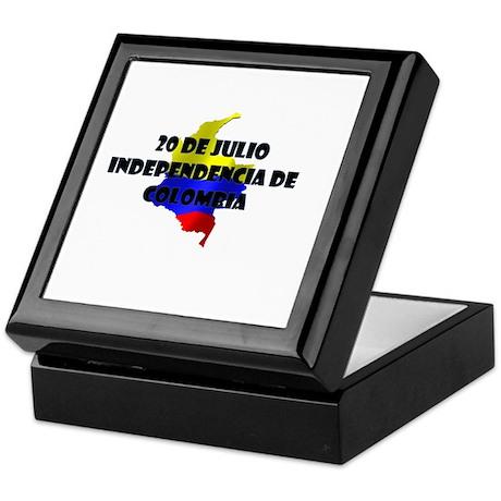 Indepencia de Colombia Keepsake Box