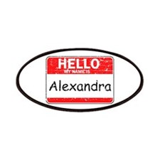 Hello My name is Alexandra Patches