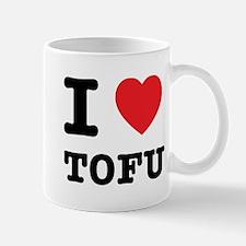 I Heart Tofu Mug