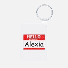Hello My name is Alexia Keychains