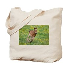 Galloping Foal Tote Bag