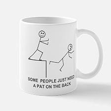 PAT ON THE BACK Mug