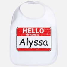 Hello My name is Alyssa Bib