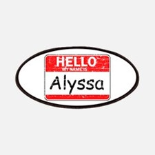 Hello My name is Alyssa Patches