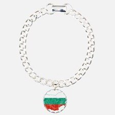 Bulgaria Flag And Map Bracelet
